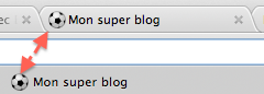 gestion favicon blog4ever