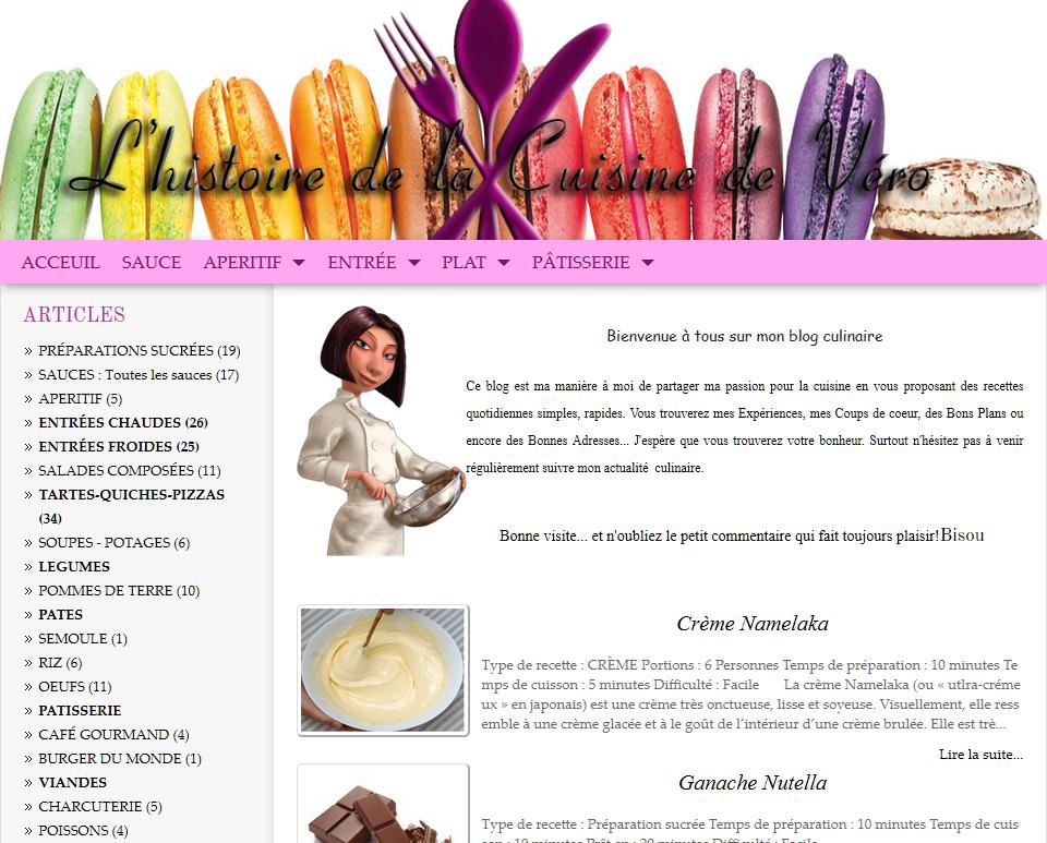 Interface pour créer un article dans un blog